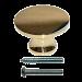 Small Brass Knob
