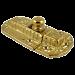 Cast Brass Cabinet or Cupboard Latch