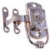 "Nickel Sellers ""S"" Cabinet Latch"