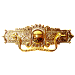 Eastlake Brass Drawer Pull