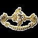 Open Victorian Cast Brass Drawer Pull