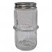 Clear Colonial Spice Jar