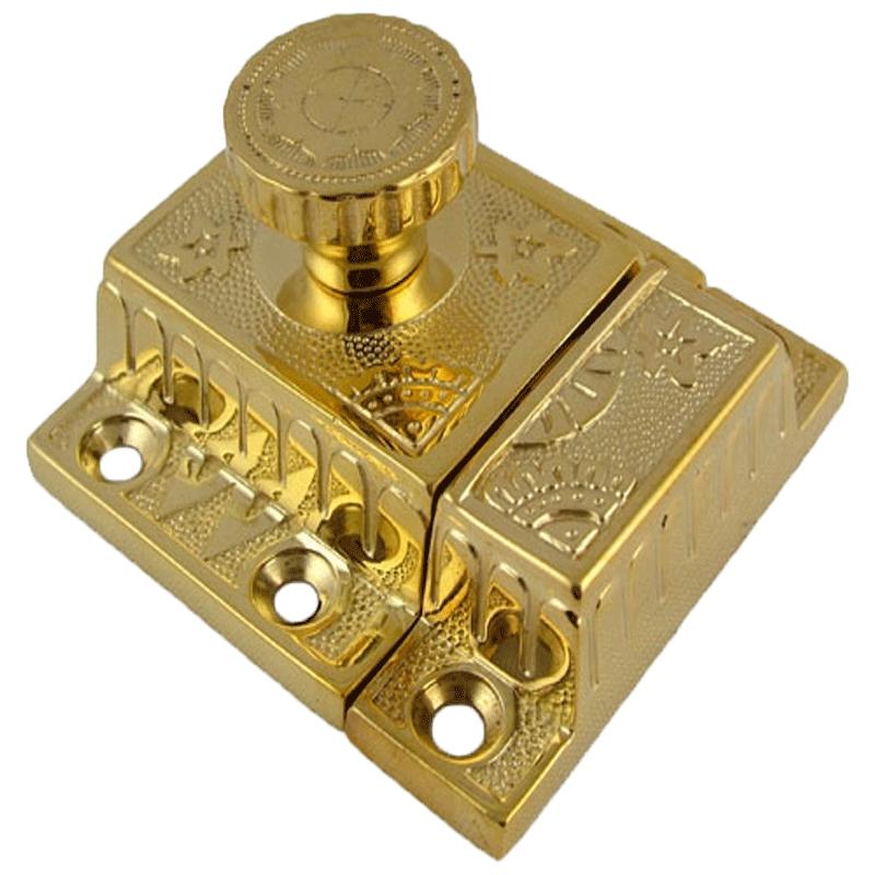 - Fancy Brass Cabinet Or Cupboard Latch