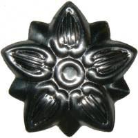 Small Steel Flower Trunk Ornament