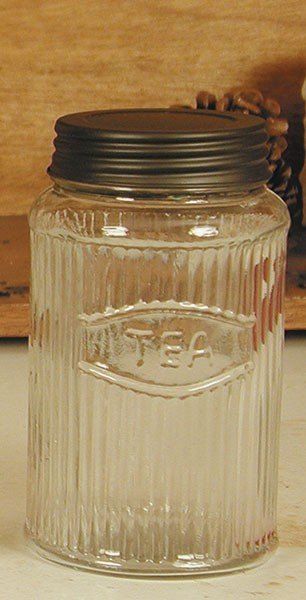 Mission Pattern Hoosier Tea Jar