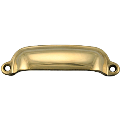Cabinet & Furniture Cast Brass Bin Pull