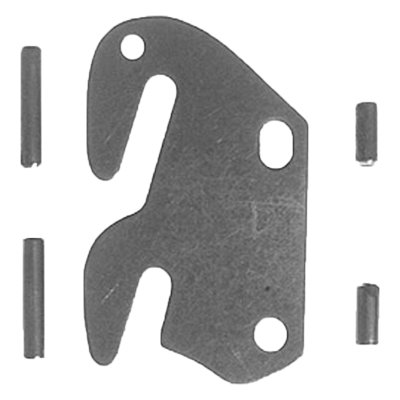 Steel Bed Rail Fastener Set