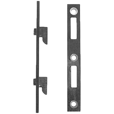 Flat Steel Bed Rail Fastener Set
