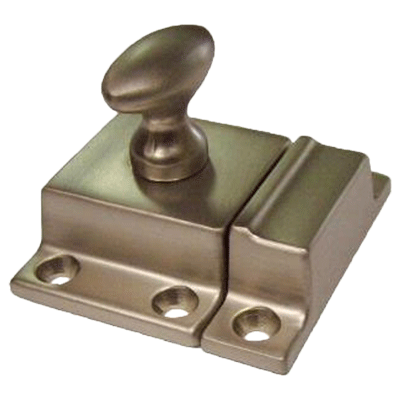 Classic Brushed Nickel Cabinet or Cupboard Latch