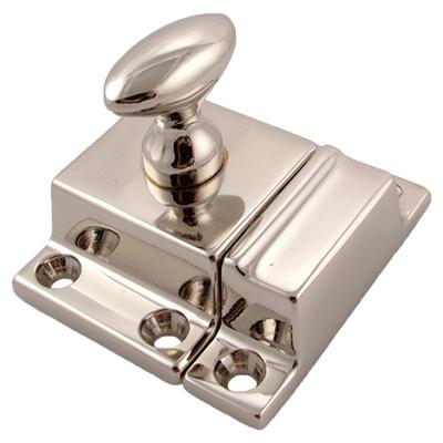 Classic Nickel Cabinet or Cupboard Latch