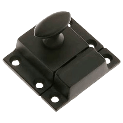 Classic Oil Rubber Bronze Cabinet or Cupboard Latch