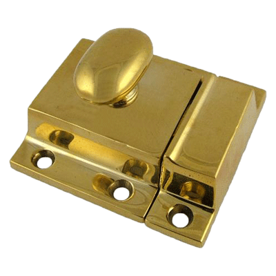 Large Classic Brass Cabinet Latch