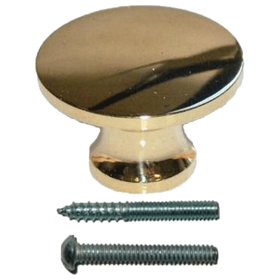 Minature Brass Knob