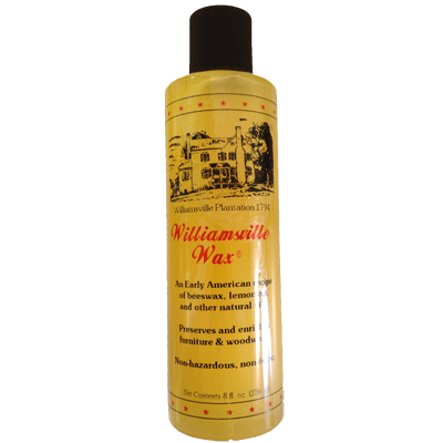 Williamsville Lemon Oil Beeswax