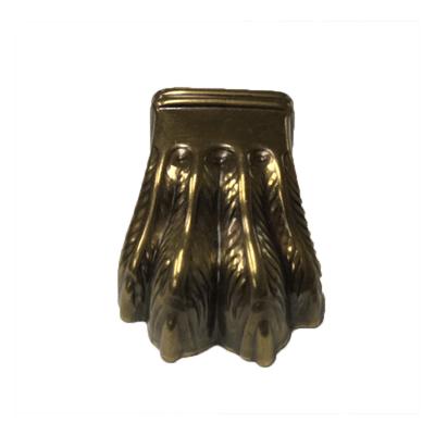 Medium Four Toe Antique Brass Claw Foot