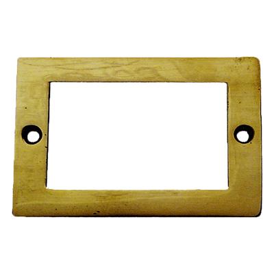 Plain Brass File Card Frame
