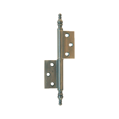 "Right ""Flag"" Hinge with Steeple Tips"