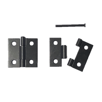 Oil Rubbed Bronze Removable Pin Butt Hinge Pair
