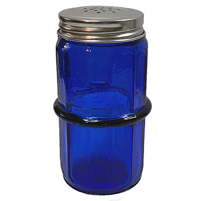 Blue Colonial Pattern Hoosier Spice Jar