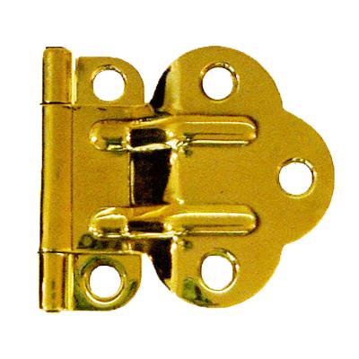 McDougall Brass Fold Back Cabinet Hinge