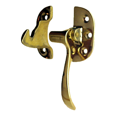 Cast Brass Right Ice Box Lever Latch