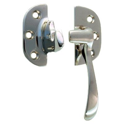 Cast Polished Nickel Right Ice Box Lever Latch