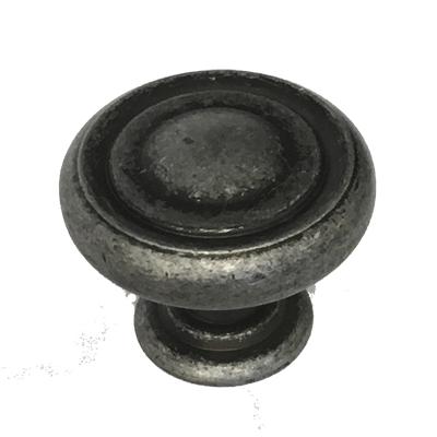 Pewter Mushroom Cabinet Knob