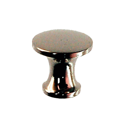 Small Cast Nickel Plated Knob