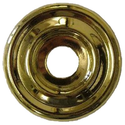 Plain Backplate Brass Washer