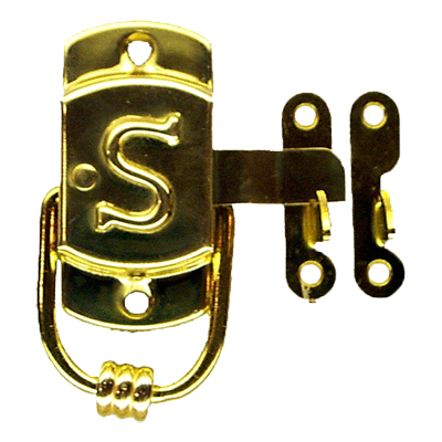 "Left Sellers ""S"" Cabinet Latch"