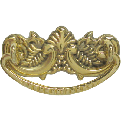 Small Victorian Brass Drawer Pull