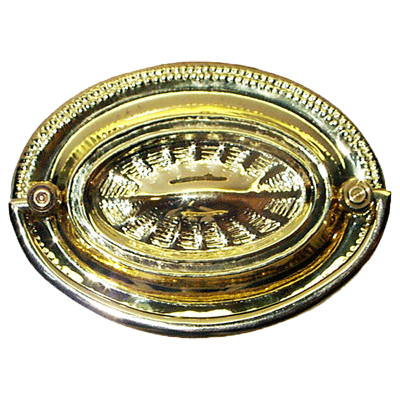 Hepplewhite Brass Drawer Pull