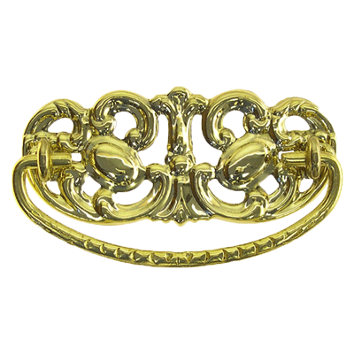 Victorian Brass Drawer Pull