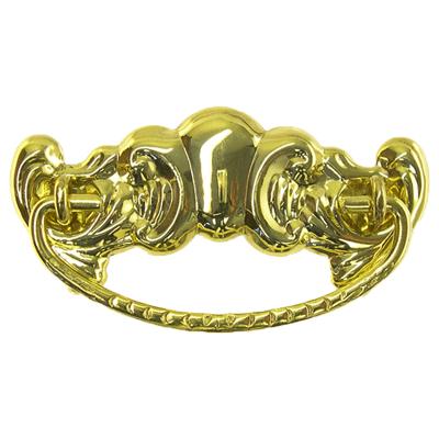 Decorative Victorian Brass Drawer Pull