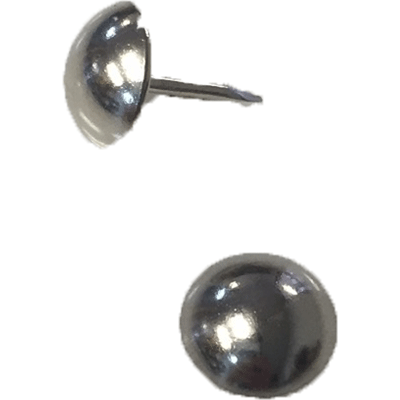 Nickel Natural Seat & Upholstery Tacks & Nails (50 Pack)