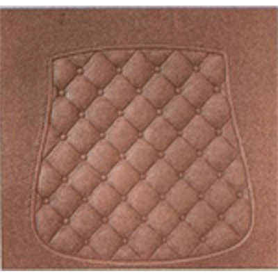 Quilted Fiberboard Chair Seat