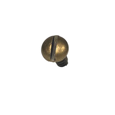Antique Brass Plated Round Head Screw