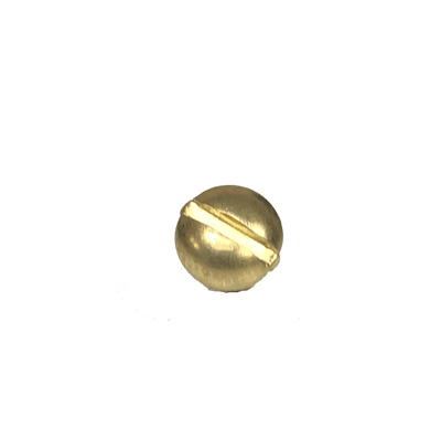 Brass Plated Round Head Screw
