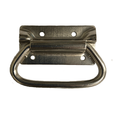Nickle Plated Trunk Handle