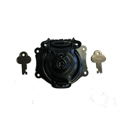 Short Black Trunk Lock