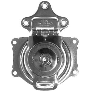 Short Nickel Trunk Lock