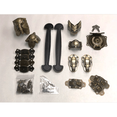 Woodsmith Trunk Hardware Kit