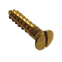 Brass Oval Head Screws