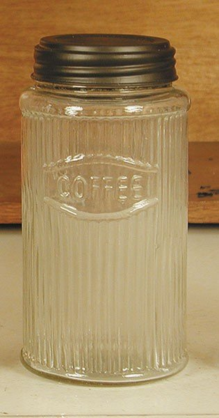 Mission Pattern Hoosier Coffee Jar