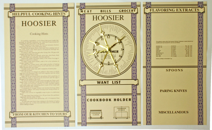 Hoosier  Door Chart - Card Set