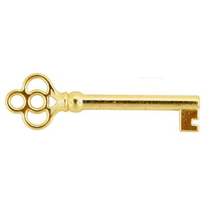 Classic Brass Skeleton Key