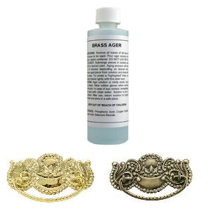 Brass Ager & Darkening Solution