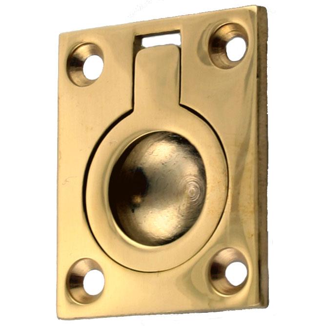 Flush Door or Drawer Pull