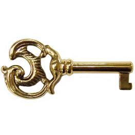 Beautiful Solid Brass Skeleton Key