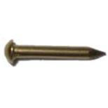 Solid Brass Escutcheon Pins